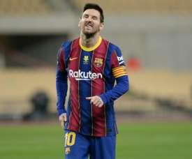 Messi sul taccuino del PSG. AFP