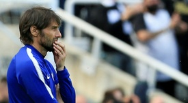 Antonio Conte was rumoured to be leaving the club for weeks. AFP