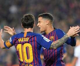 Nouvelle opportunité pour Coutinho. AFP