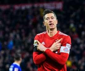O Bayern se reencontra com a vitória. AFP
