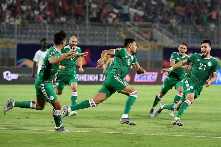 The Africa Cup of Nations will see Algeria clash with Senegal in a monumental game. AFP