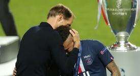 Perder la final fue un golpe durísimo para Neymar. AFP/Archivo