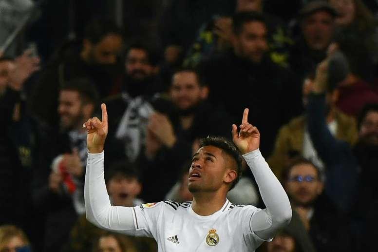 Mariano quiere triunfar en el Real Madrid. AFP