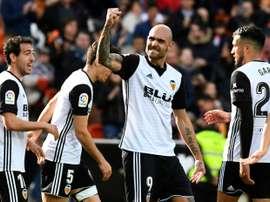 Valencia won 3-1 against Alaves. AFP