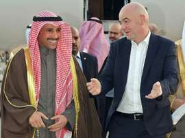 FIFA has lifted Kuwait's suspension from world football. AFP