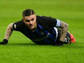 Icardi debacle weighs heavy on Inter before crunch Milan derby.