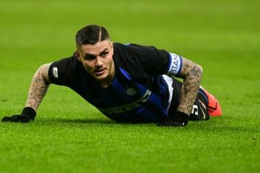 A Inter desconfia de Icardi. AFP