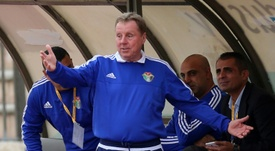 Redknapp podría volver al West Ham. AFP