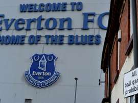 A view of Goodison Park, Everton's home ground. AFP