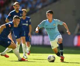 Foden impressed at Wembley. AFP