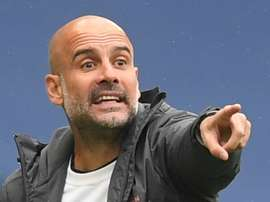 Txiki Bergiristain is confident Guardiola will bring Man City more trophies. AFP