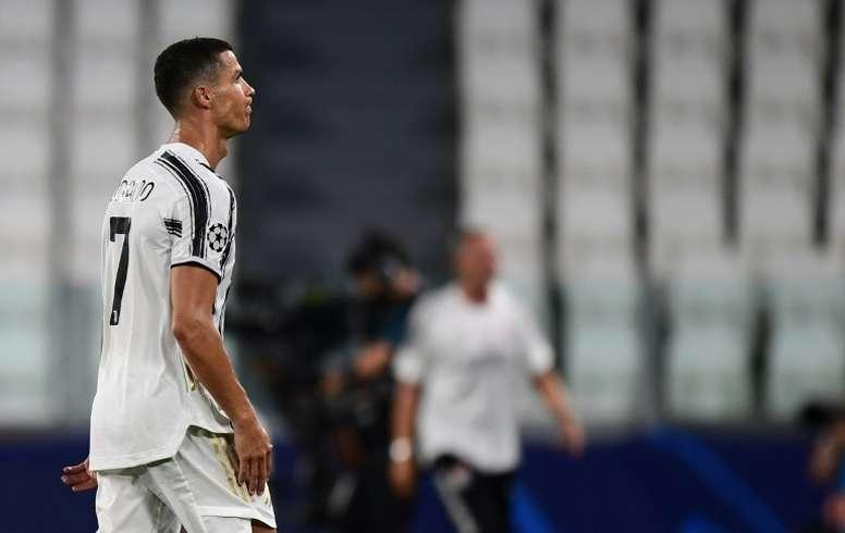 Le message de Ronaldo après l'élimination de la Juventus en C1. AFP
