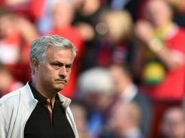 Mourinho ya piensa en el mercado. AFP