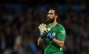 Claudio Bravo will be out for a long time. AFP