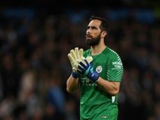 Claudio Bravo will be out for significant time. AFP