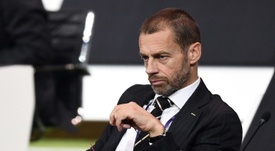 Ceferin wants teams to be rewarded for reaching the Champions League semi-finals. AFP