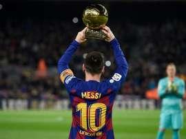 Anche alla Juve piaceva Messi. AFP
