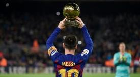 Messi pudo fichar por la Juventus. AFP