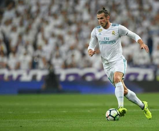 Bale a offert les deux buts à Mayoral. AFP