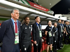 Queiroz was keen to highlight his side's hefty victory. AFP