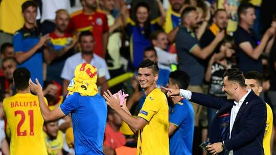 Romania and France were both through to the last 4 after their goalless draw. AFP