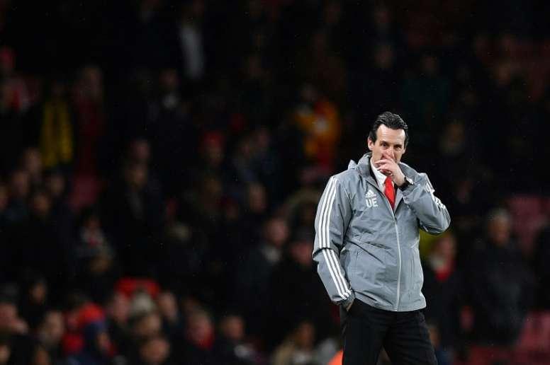 Unai Emery é demitido do Arsenal. AFP