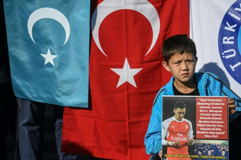 Arsenal v Man City has been plugged in China due to comments by Ozil. AFP