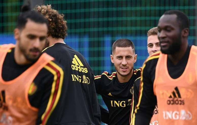 La selección belga está a 90 minutos de entrar en la final. AFP