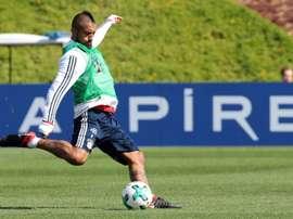 Vidal 'fundamental' for Bayern, AFP