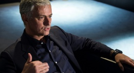 Mourinho, crítico con el Vitória de Setúbal. AFP