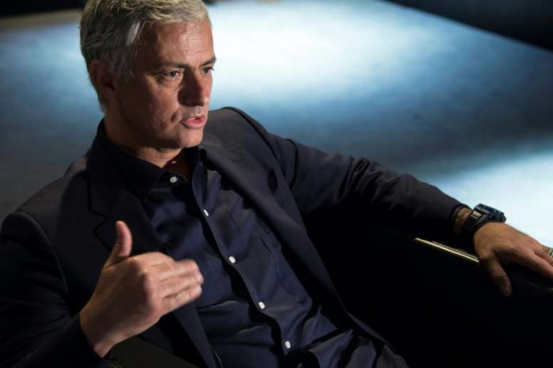 Mourinho, una opción real para el banquillo blanco. AFP