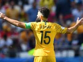 Clap de fin pour Jedinak en Australie. AFP