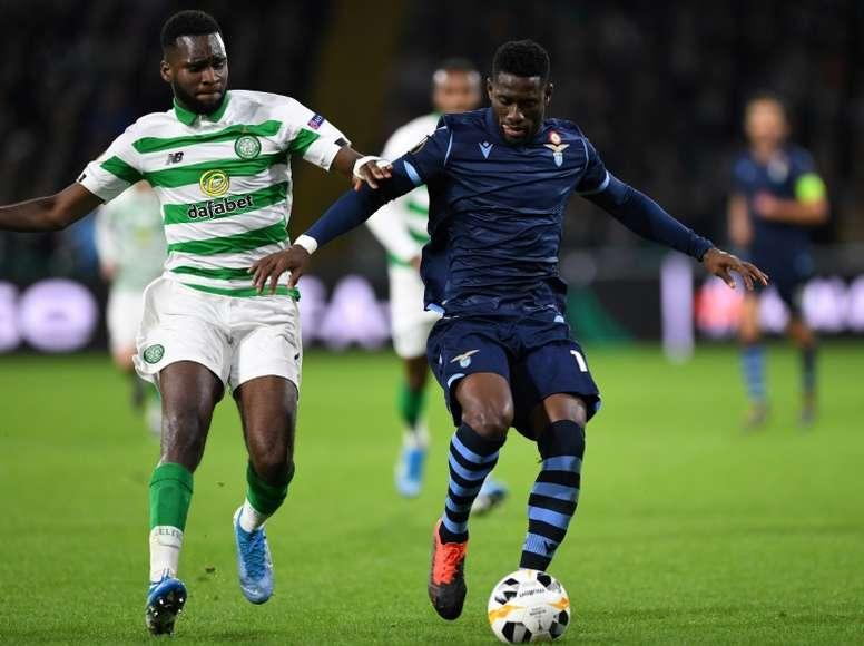Odsonne Edouard está en la agenda del Chelsea. AFP