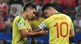 James ne joue pas avec le Real Madrid, mais est convoqué avec la Colombie. AFP