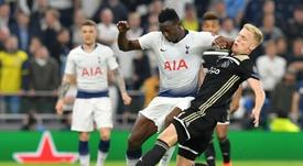 Wanyama podría volver al Celtic de Glasgow. AFP