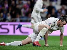 O tempo de Bale no Real Madrid parece ter chegado ao fim. AFP