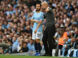 Bernardo Silva falou do restaurante de Pep Guardiola. AFP