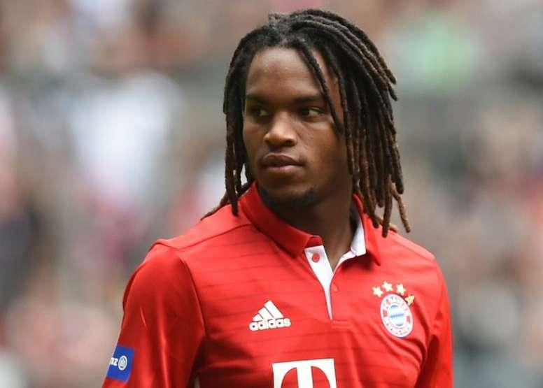 Renato Sanches está tendo pouco destaque no Bayern de Munique. EFE/Arquivo