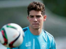 Luca Zidane, son of Zinedine Zidane, is goalkeeper for the Real Madrid youth team