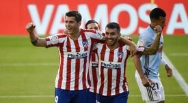 Morata marcó el segundo gol más tempranero de esta Liga. AFP