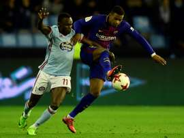 Semedo could go to Atletico as part of Griezmann transfer. AFP