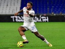 Memphis Depay is set to join Barcelona. AFP