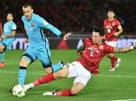 Zhang Linpeng es una de las opciones que baraja el Espanyol. AFP