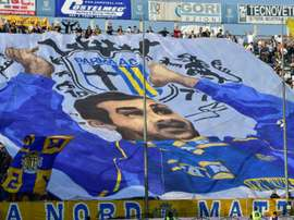 Parma were relegated to Serie D after going bust. AFP