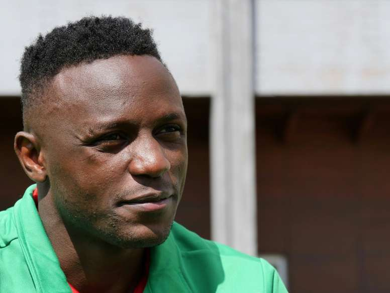 Victor Wanyama has given sanitizing kits to families in his homeland Kenya. AFP