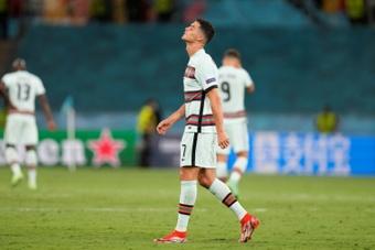 Ronaldo : Nous reviendrons plus forts. afp