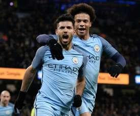 'Citizens' somam mais três pontos no campeonato. AFP