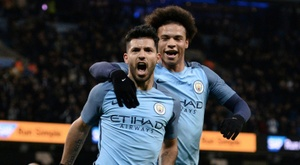 Aguero and Sane