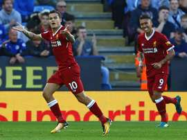 Coutinho scored one and set up another against the 'Foxes'. AFP