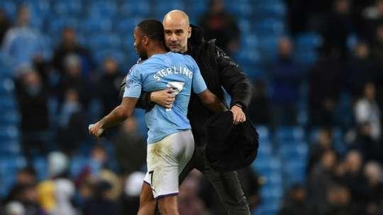 Sterling, de vuelta para jugar contra el Madrid. AFP